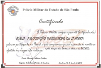 Assija recebe certificado do PROERD 2017